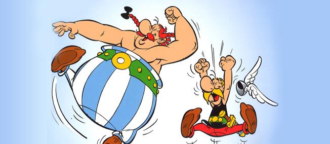 asterix sur facebook